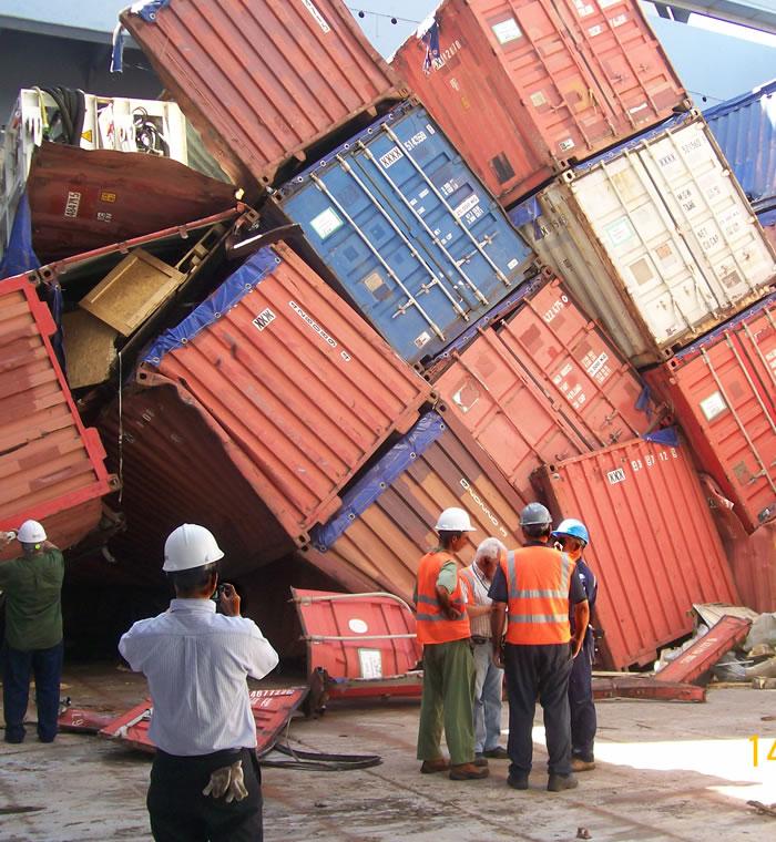 Marine Cargo (dry, liquid, perishable & frozen) Surveys and Claims